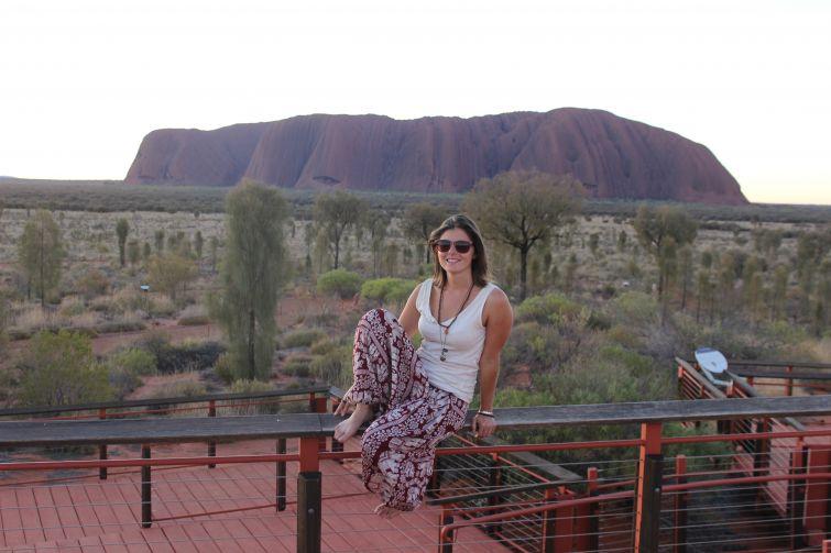 Cristina - Uluru/Ayers Rock (Australia)
