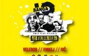 Banga hip hop koncert: Velebor, Emkej, Ivč