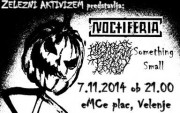 Koncert: Noctiferia, Dickless Tracy, Something Small