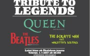 TRIBUTE TO LEGENDS - QUEEN Real Tribute Band,  Help! A Beatles Tribute in The Giraffe Men feat. The Marietta Sisters