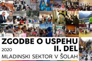 Urad za mladino izdal e-zbornik Zgodbe o uspehu II. del - mladinski sektor v šolah