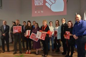 Znani naj prostovoljci v Mestni občini Velenje v letu 2016