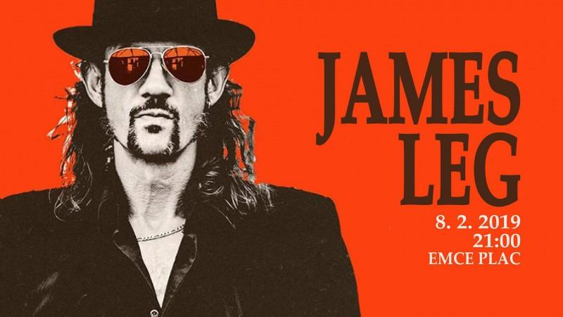 koncert: James Leg (ZDA)