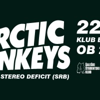 Koncert: Arctic Monkeys Tribute By Stereo Deficit (SRB)