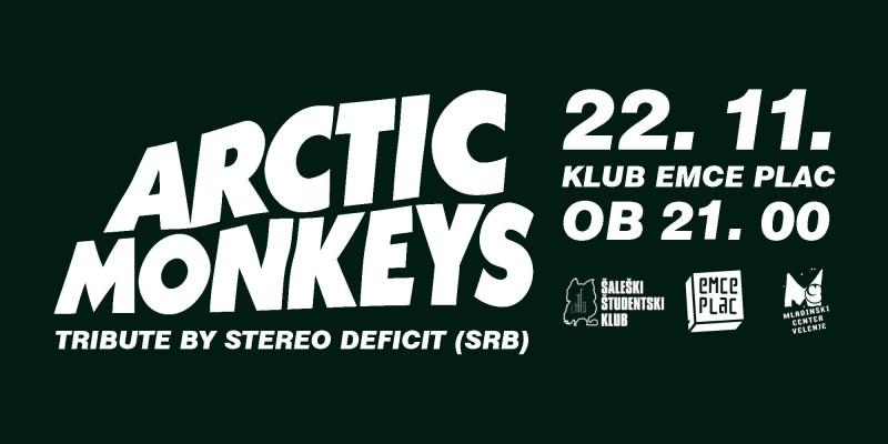Koncert: Arctic Monkeys Tribute By Stereo Deficit (SRB)