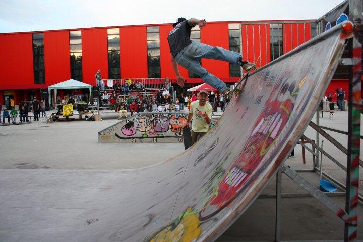 Park spet dogaja: Skate kontest ob koncu šolskega leta