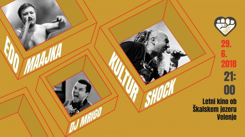 Kultur Shock (ZDA), Edo Maajka (BIH), DJ Mrigo