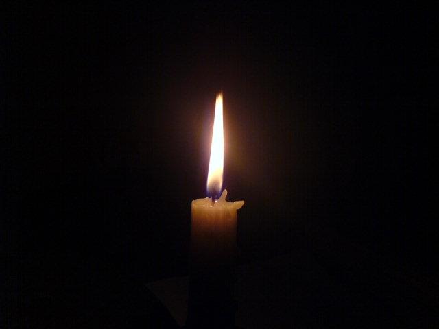 Sveča na odru