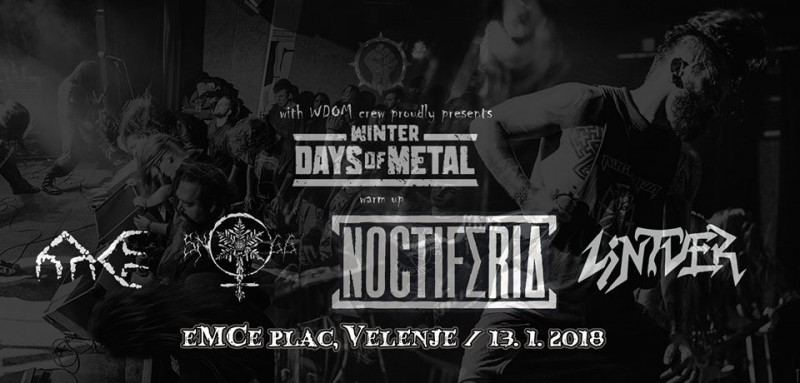 Winter Days of Metal official warm up